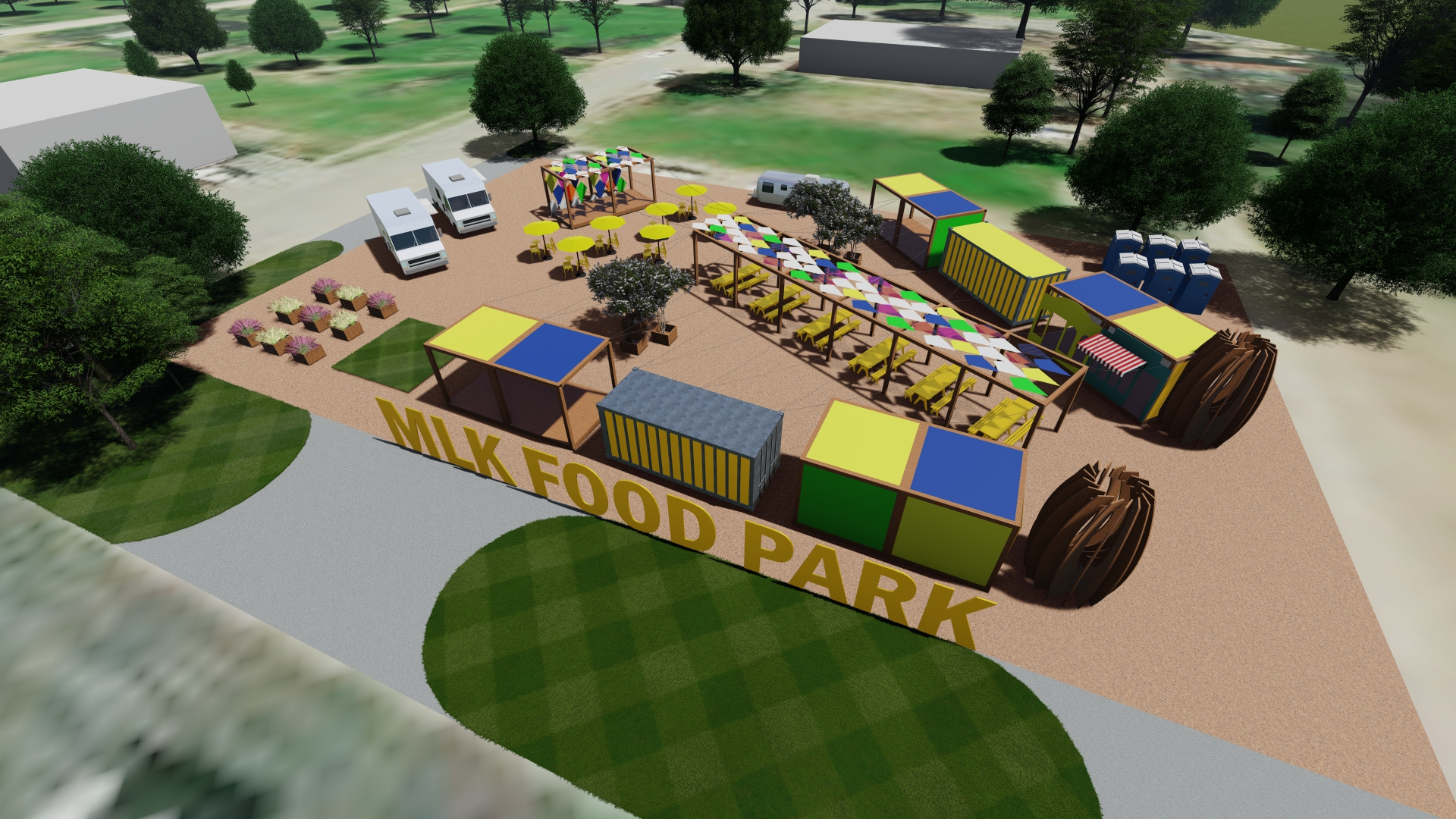 Organizers hope pop-up MLK Food Park becomes permanent in South Dallas