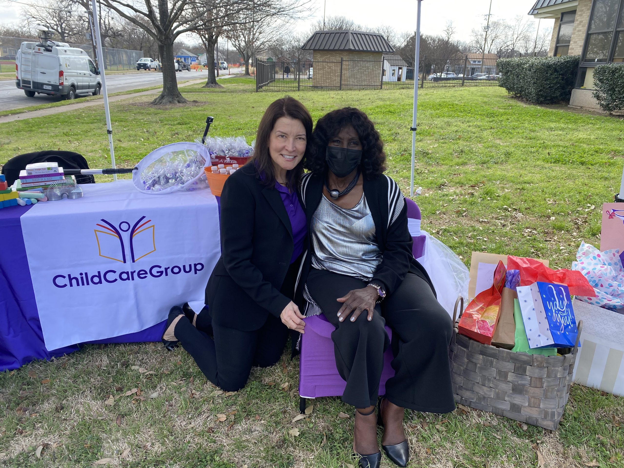 Drive-by parade honors Bobbie Blair, 51-year early education teacher with ChildCareGroup